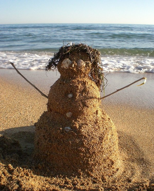 вязаная картинка прикол снеговик из грязи досаждает проблемами раздаточной
