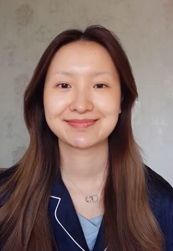 Девушка из Китая впечатляет своими преображениями с помощью косметики