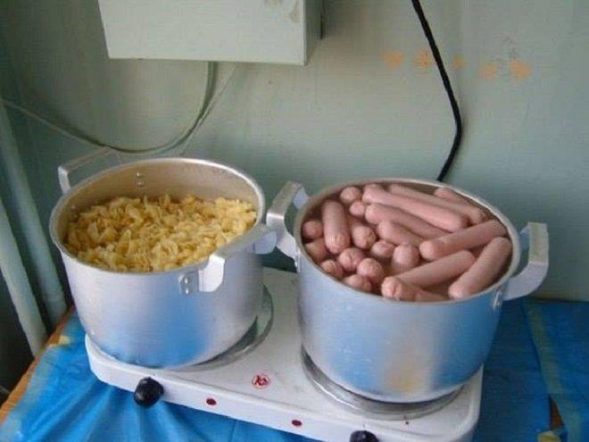 Кулинарные шедевры из общежития