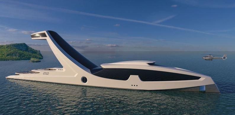 Дизайнер из Италии разработал самую дорогую яхту в мире