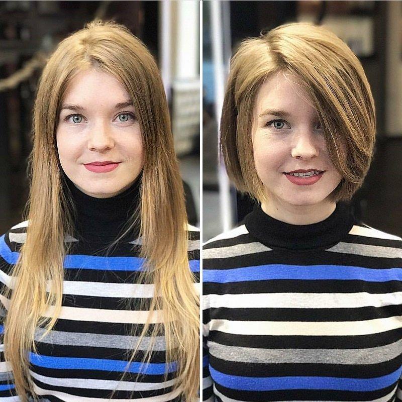 18 девушек, сделавших себе более короткую стрижку