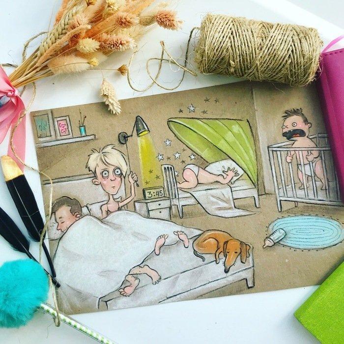 Как проходит жизнь матери двоих детей