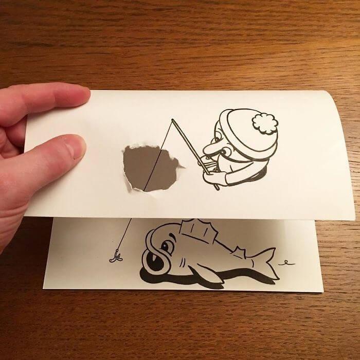 3D-трюки от талантливого художника из Дании