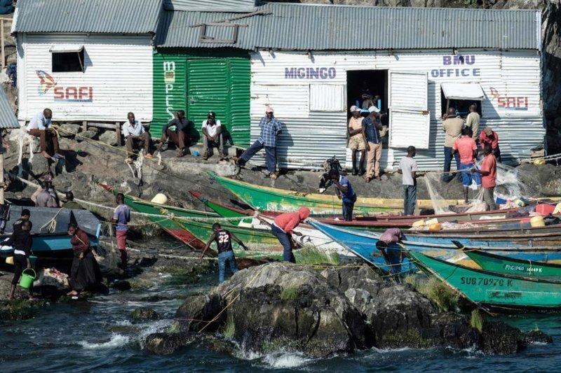 Крошечный остров на границе Уганды и Кении с населением 500 человек