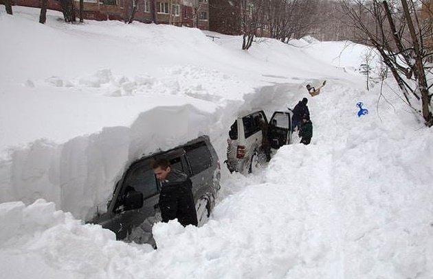 Зима вступает в свои права или 11 примеров того, что скоро нас ждет