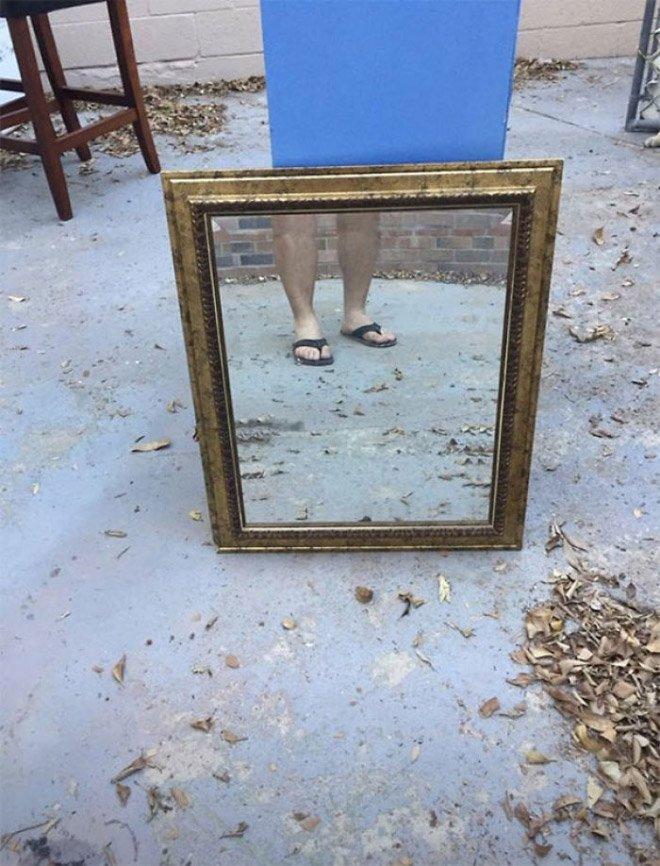 16 забавных попыток продать зеркало