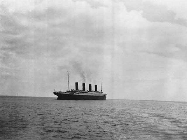 13 неизвестных фото с Титаника