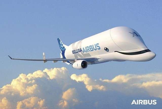Новый самолет «Белуга» — один из самых привлекательных самолетов в мире