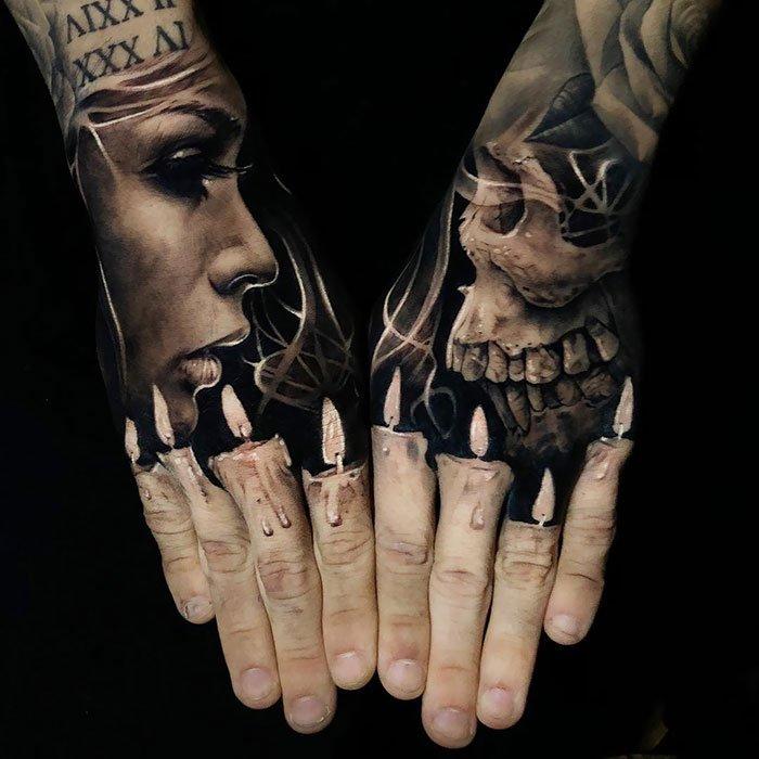 19 наиболее эпичных и впечатляющих 3D-татуировок