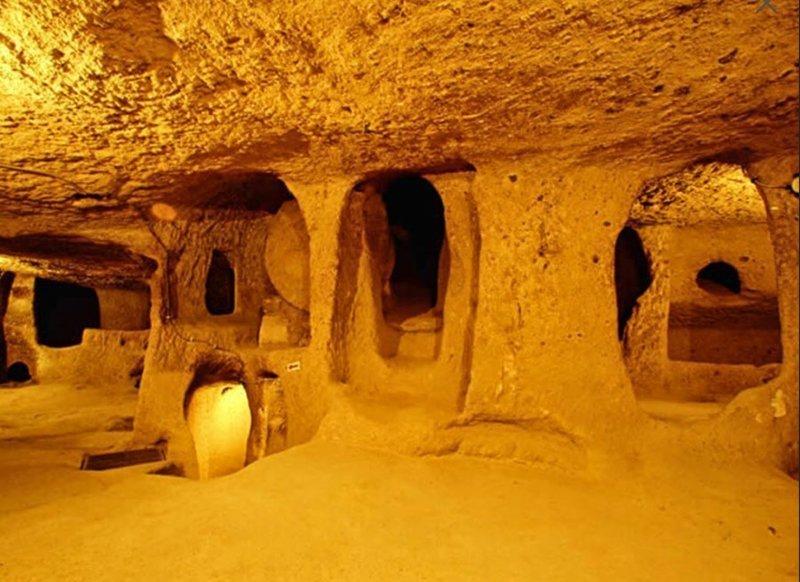 От Шотландии до Турции простираются туннели, которым более 12 000 лет