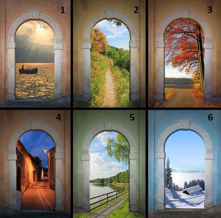 Через какие врата вы бы хотели пройти? Это многое о вас расскажет