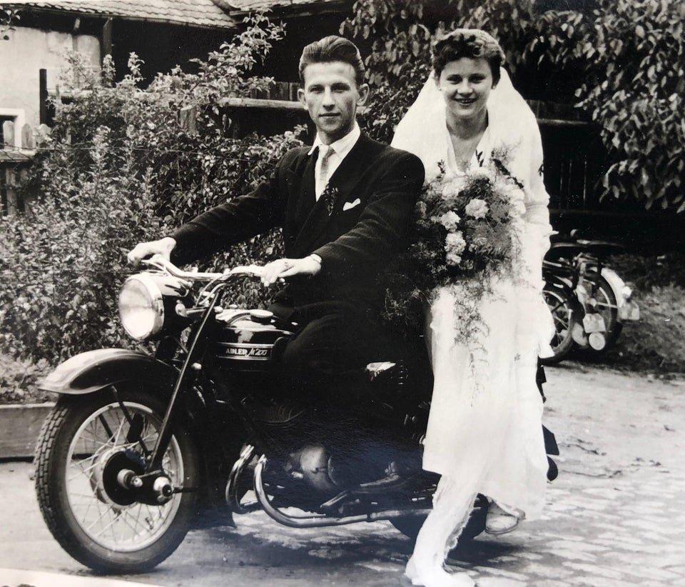 12 свадебных фото, передающих дух прошлого столетия