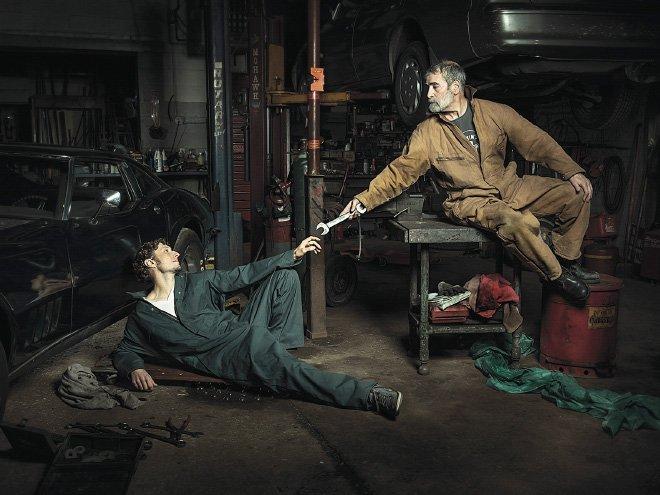 Автомеханики создали свою реконструкцию картин времен Ренессанса