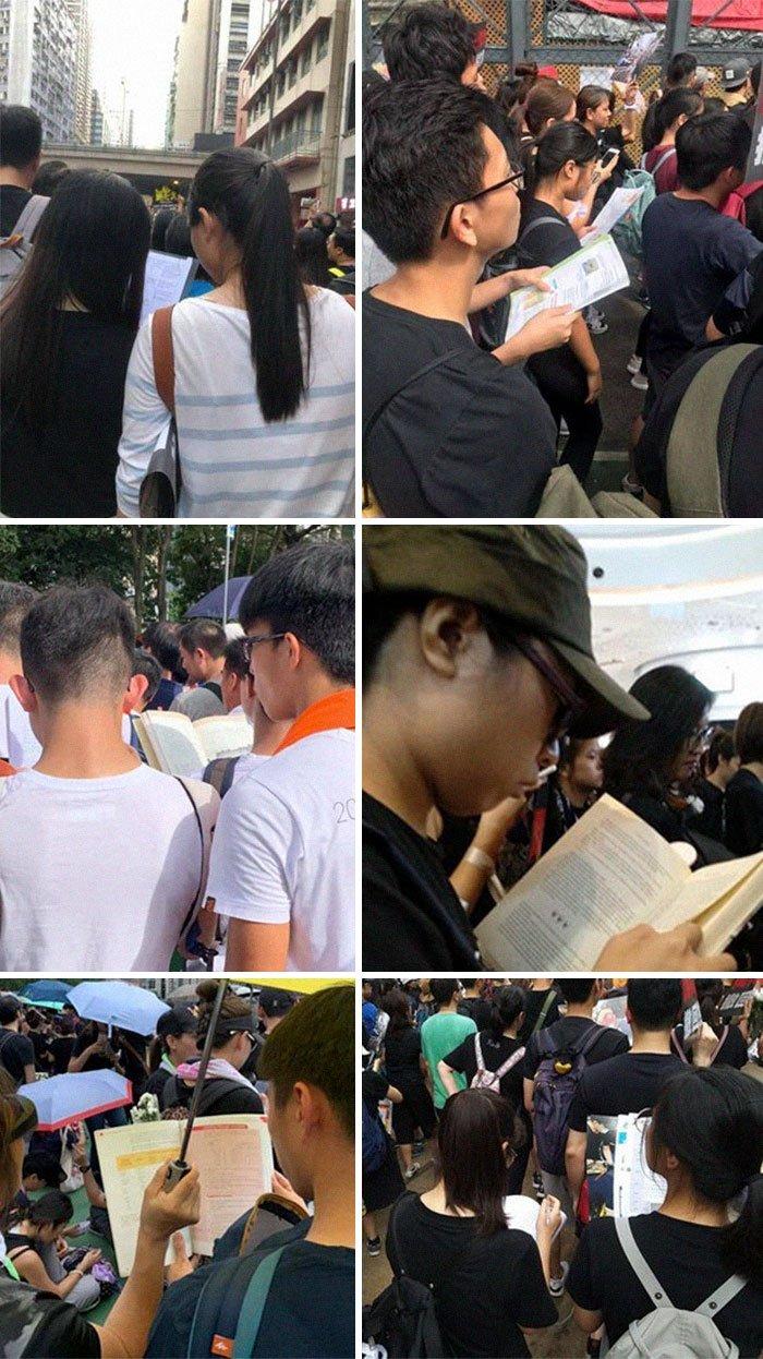 13 фото с массовых протестов в Гонконге, демонстрирующих дисциплину и самоуважение народа