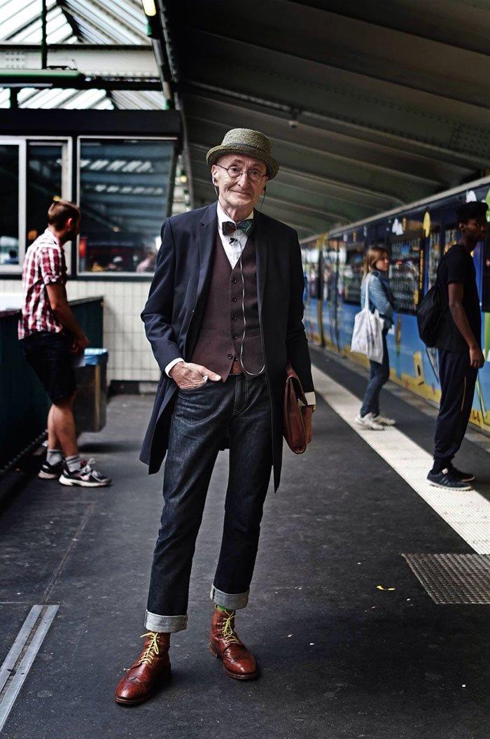 104-летний дедушка переплюнет по стилю большинство из вас