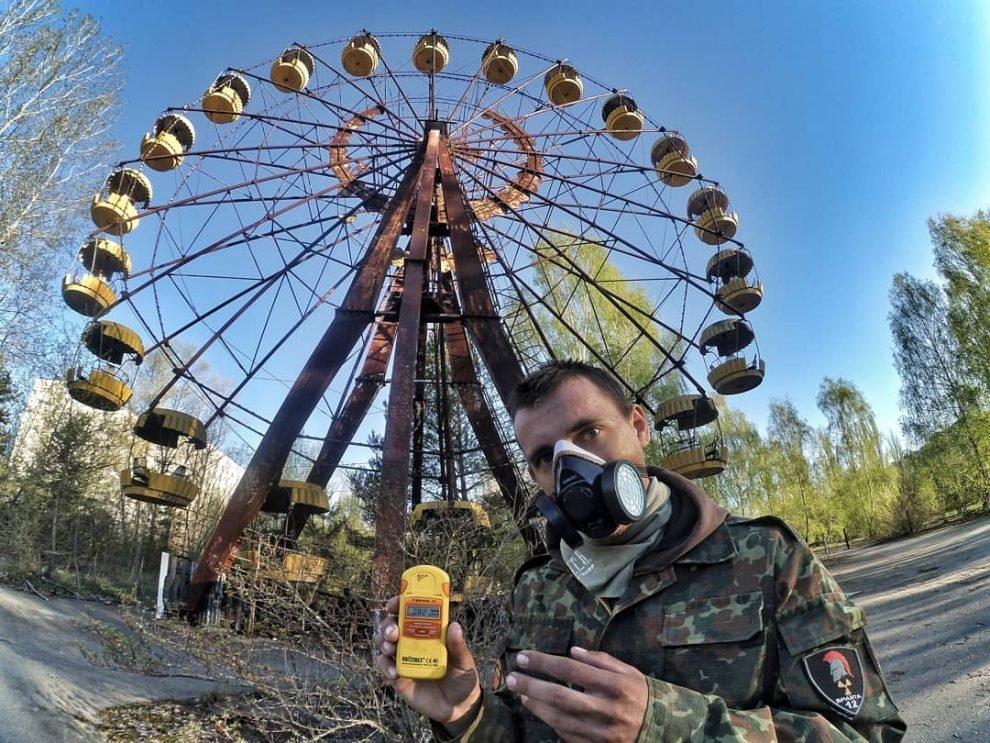 18 фото сделанных украинским сорвиголовой в Чернобыле