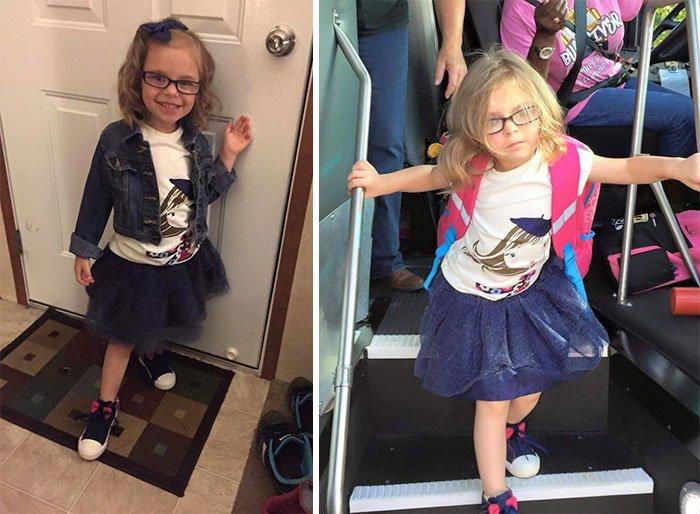 14 смешных фото детей до и после 1-го сентября