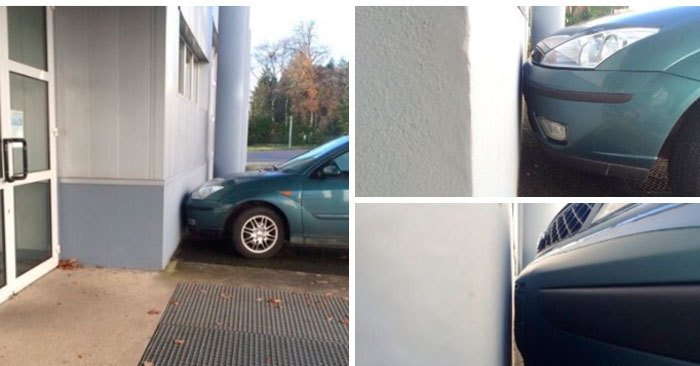 12 мастеров парковки в деле