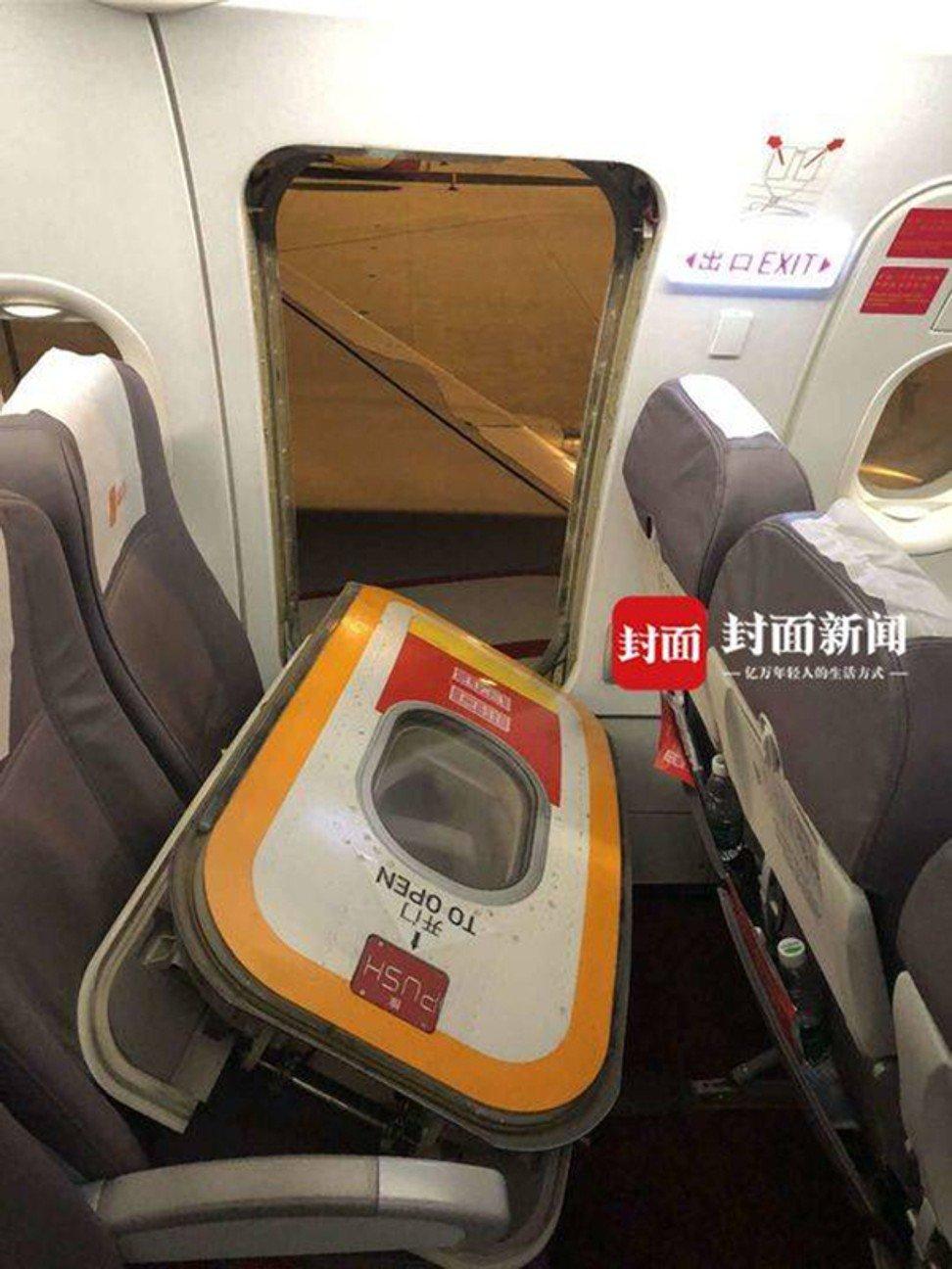Пассажир самолета открыл аварийный выход, чтобы «впустить свежий воздух»