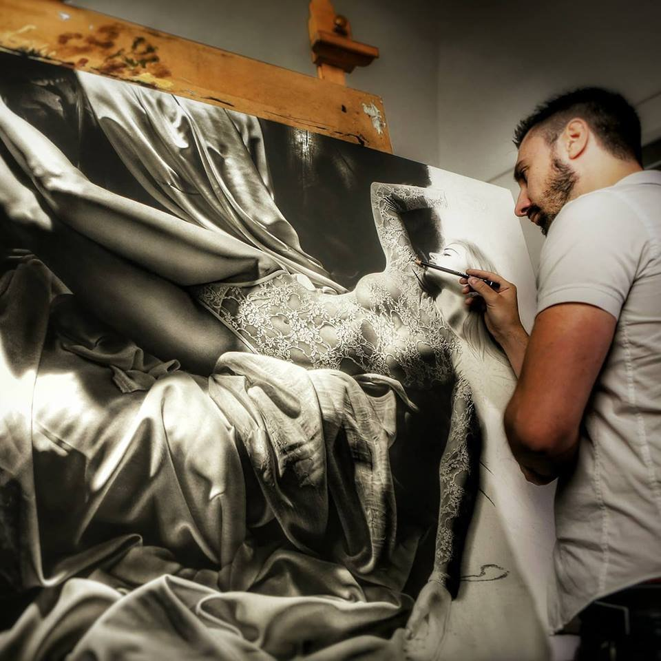 Гиперреалистичные картины Эмануэля Дасканио легко спутать с фото