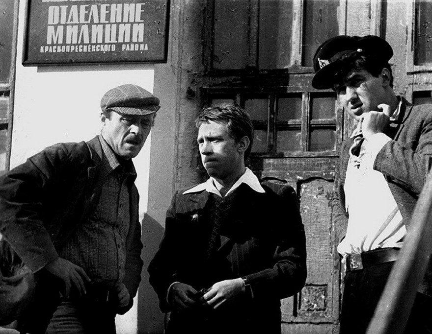Раритетные фото со съемок известных советских фильмов: 15 кадров