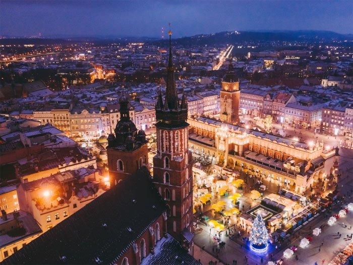 Краков признан лучшим городом для отдыха в Европе