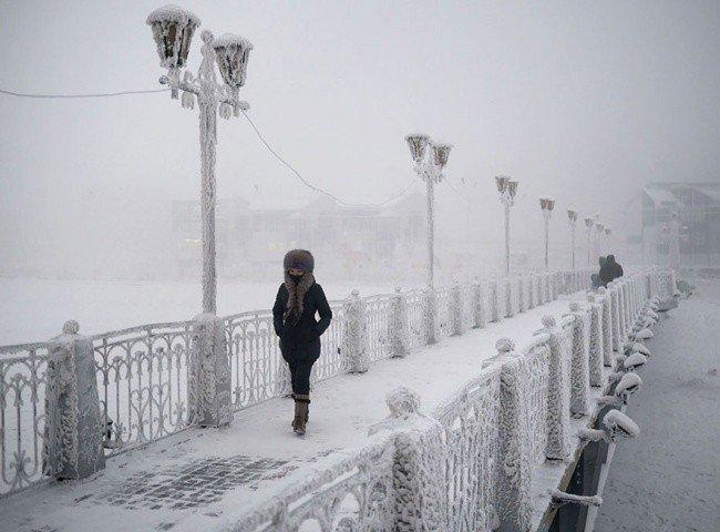 Там где живет зима — Якутск