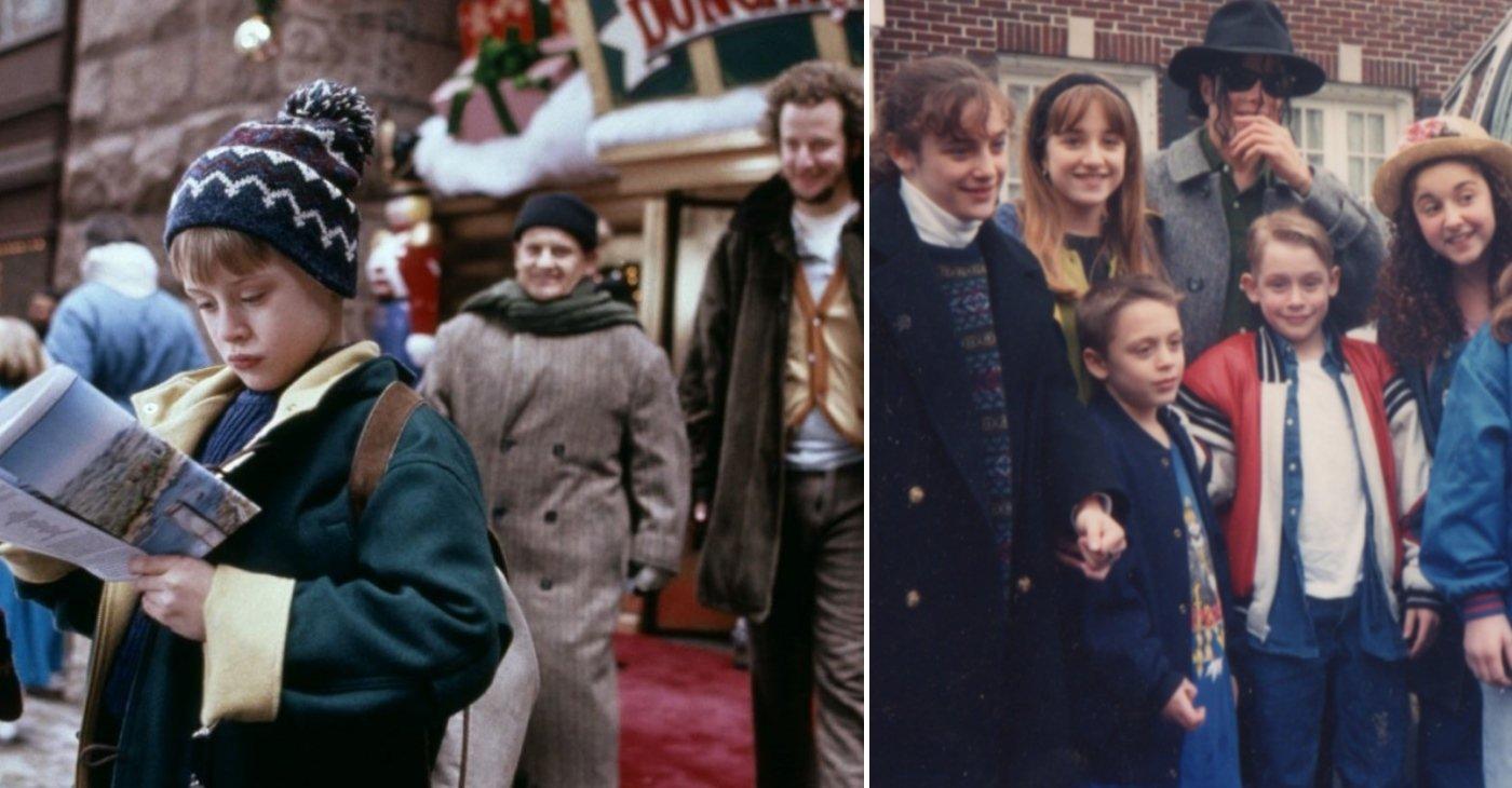 Интересные факты и кадры со съемок фильма «Один дома»
