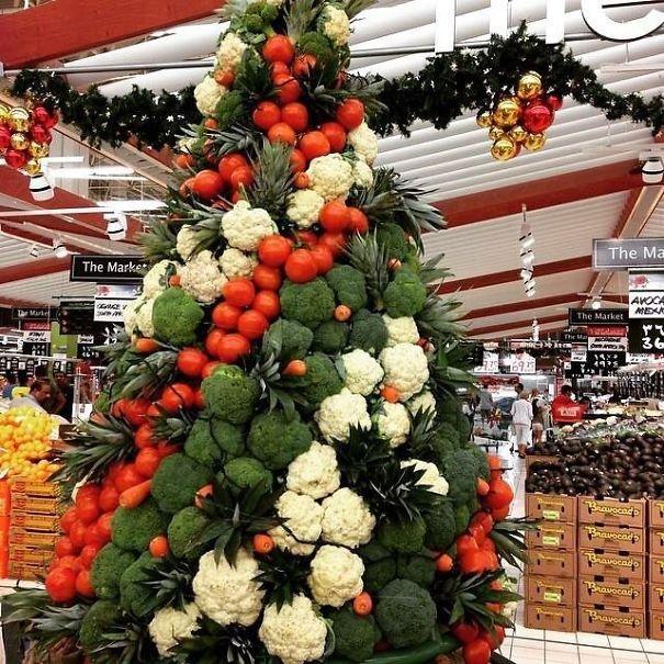15 нестандартных новогодних елок