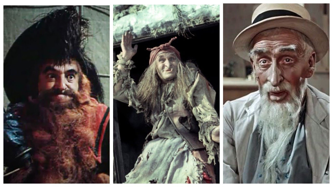 Актеры, сыгравшие культовых персонажей советских сказок