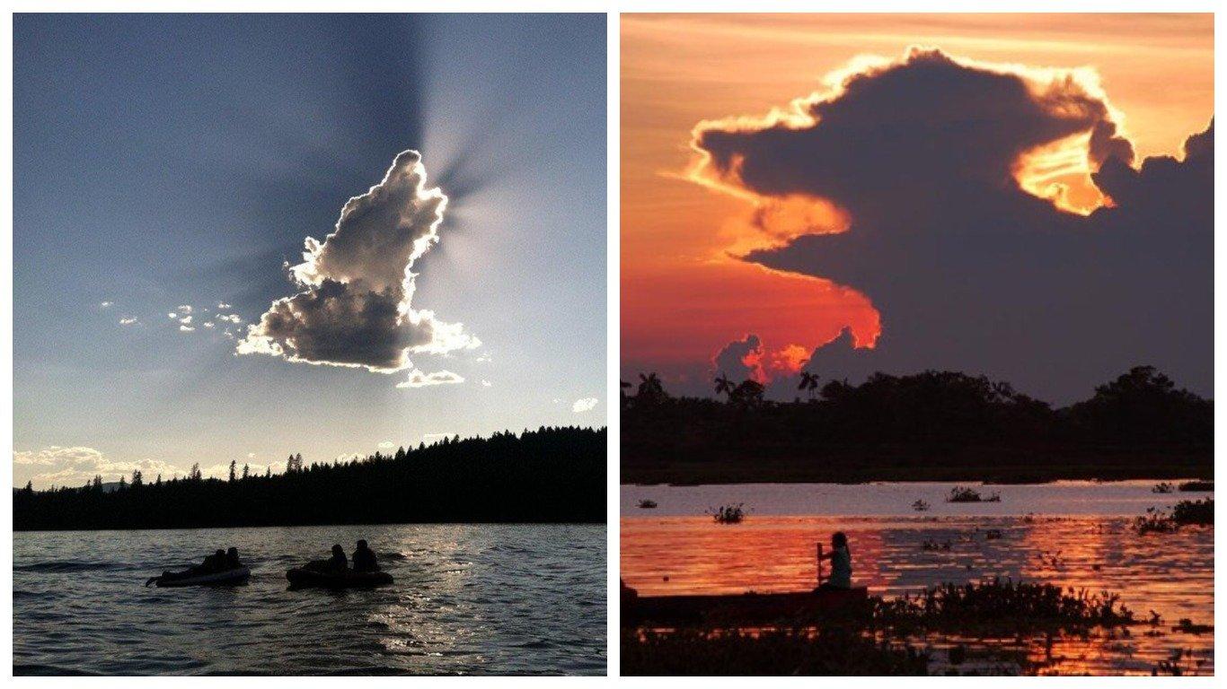 12 облаков необычной формы