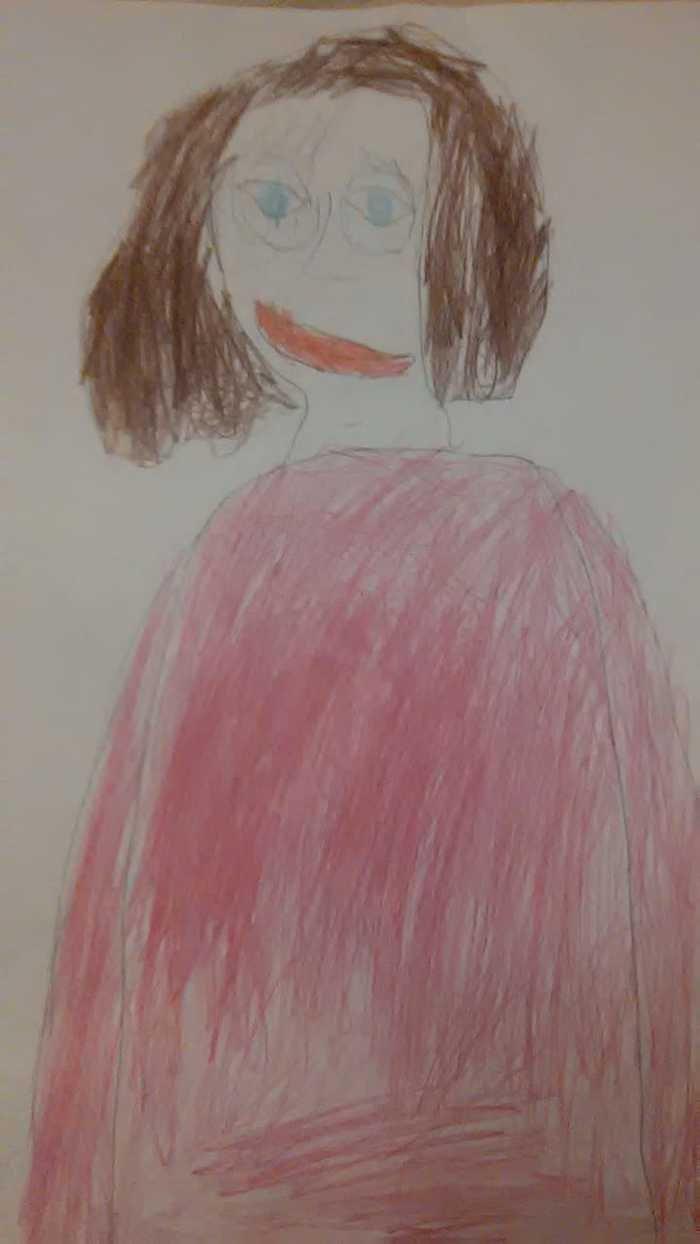 13 смешных детских рисунков