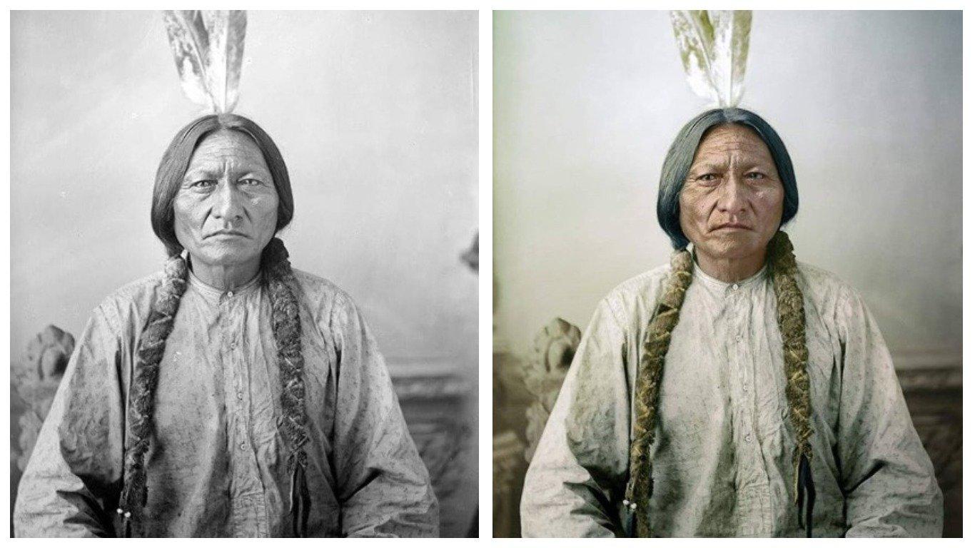 12 старых фото, оживших после реставрации