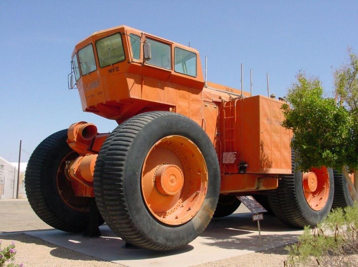 LeTourneau TC-497 – самый длинный в мире автомобиль