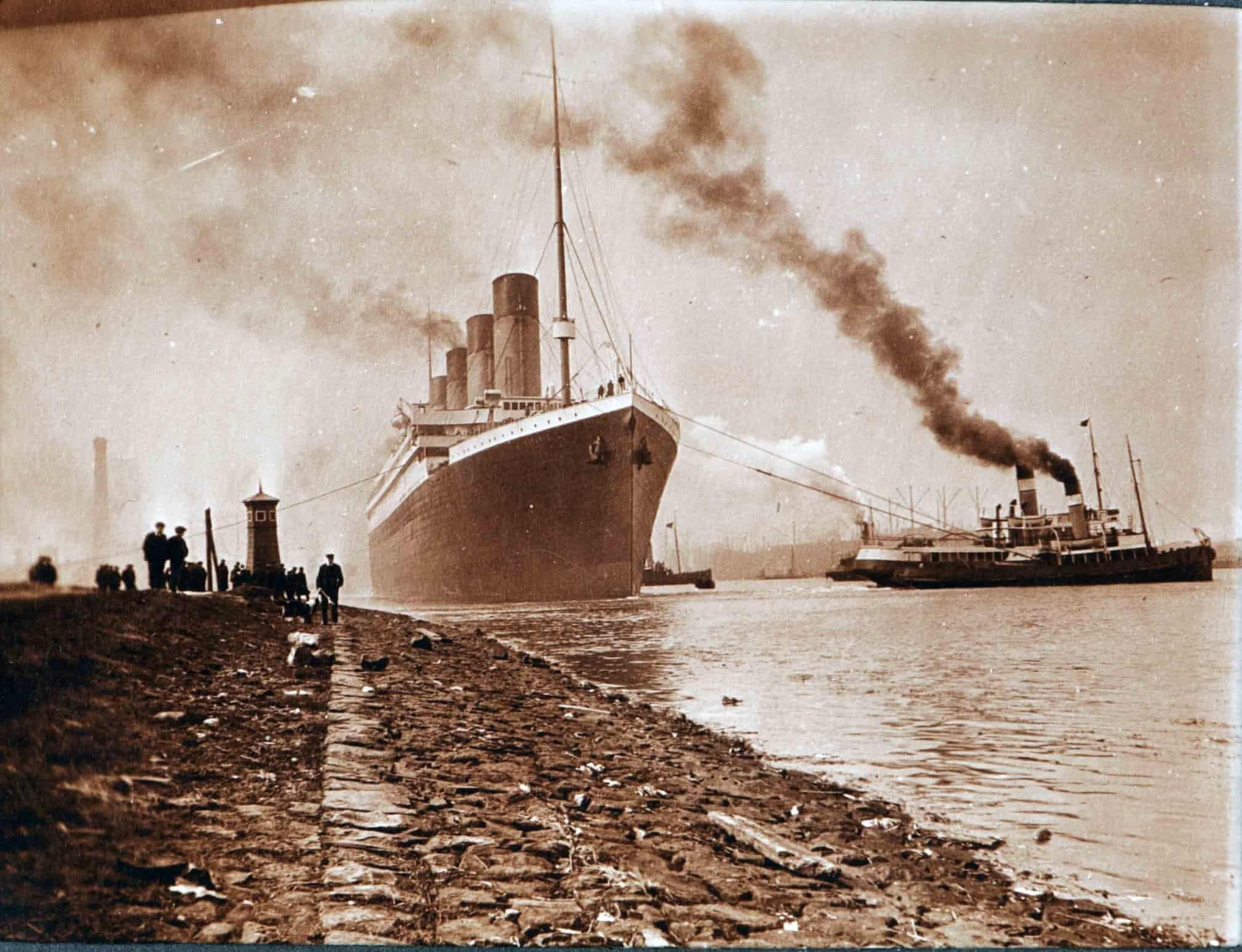 15 винтажных фото интерьера легендарного «Титаника»