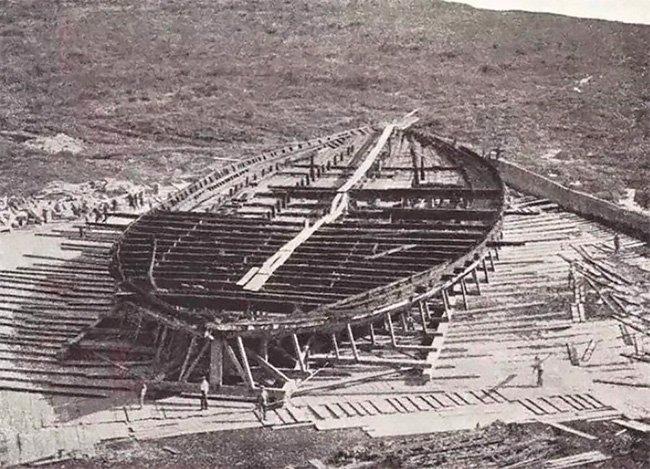 Как в 1929 году восстанавливали римские корабли спустя 2 тысячи лет и снова потеряли их на войне