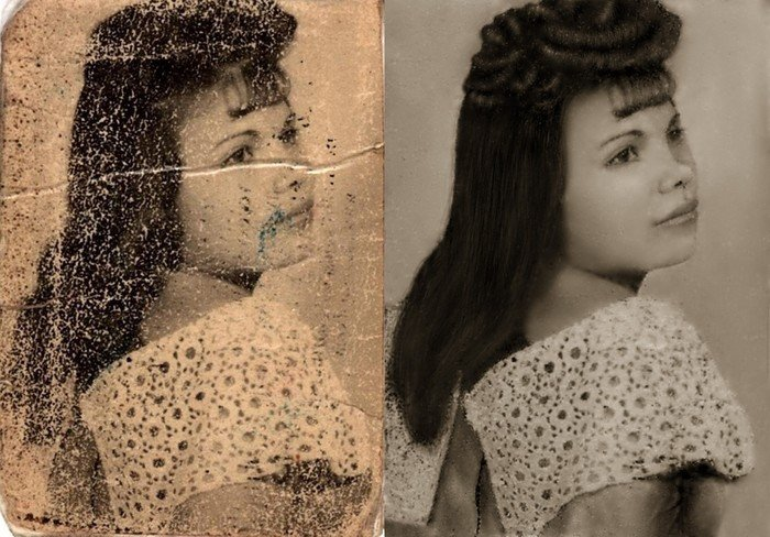 Вечная память: 12 примеров реставрации старых фото