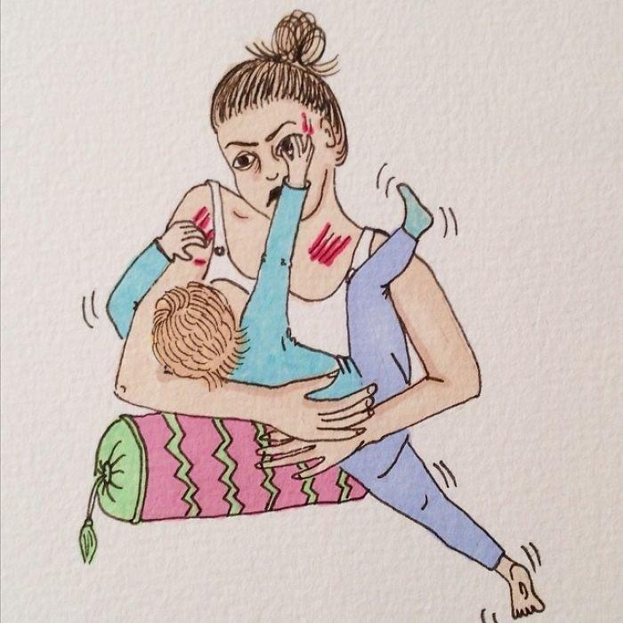 Норвежка без прикрас показывает, как выглядит материнство