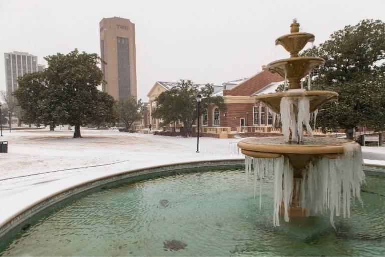 Снежный шторм буквально заморозил американский Техас: 12 фото