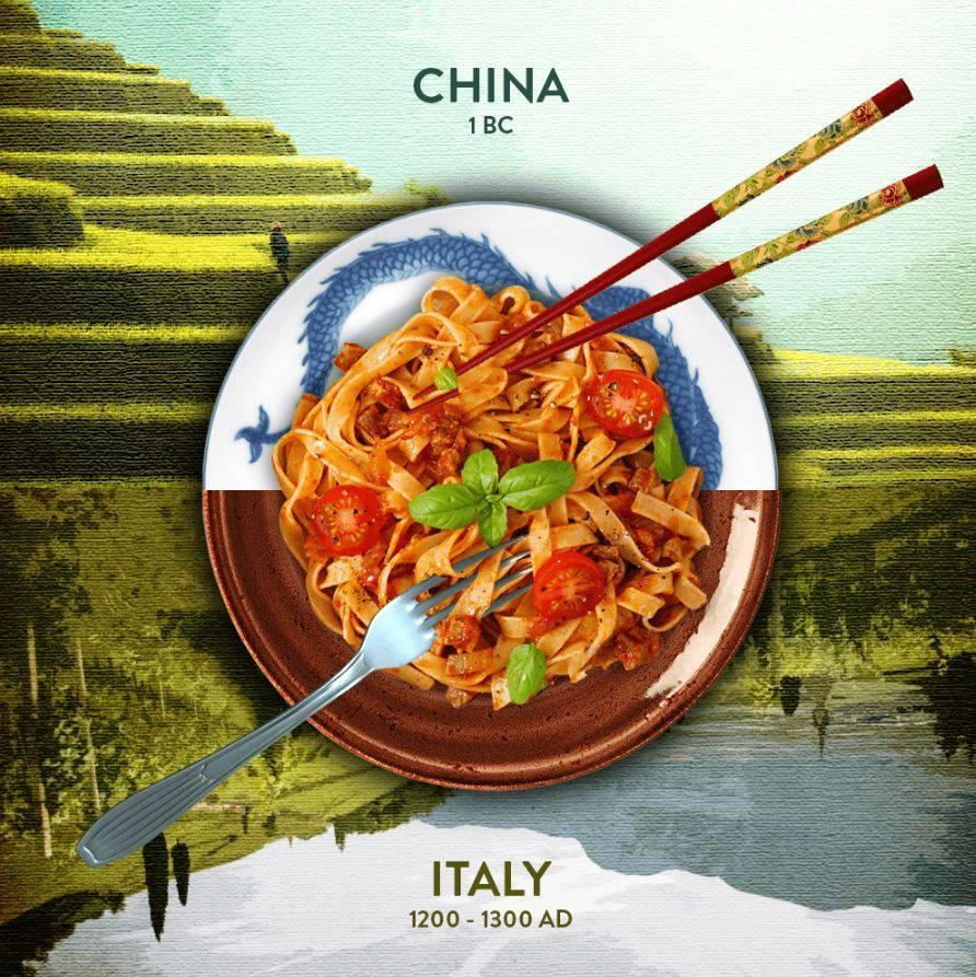 Эти блюда – символы своих стран, но где их впервые начали готовить